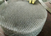 Chiny Mesh Pad Type Wire Mesh Demister Pad , Air Filter Mesh Anti Corrosion firma