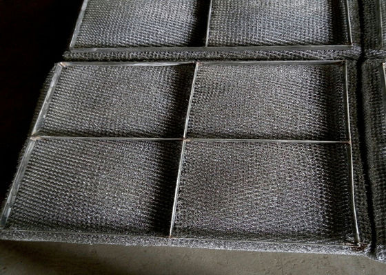 Chiny Knitted SS Wire Mesh Mist Eliminator High Misting Efficiency And Embedded Type fabryka