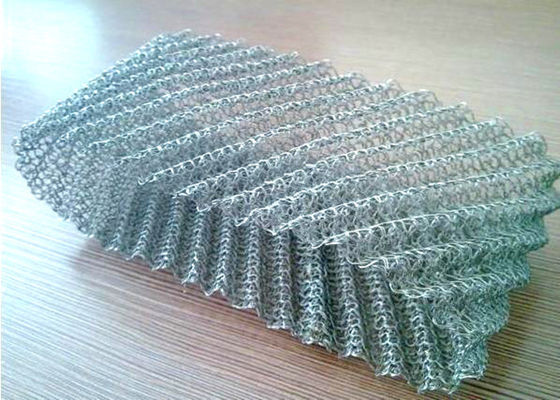 Chiny Outside Outfit Type Wire Mesh Demister Pure Nickel With Excellent Welding Performance fabryka