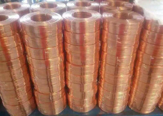 Chiny Durable Flat Bare Copper Wire , Carton Special Copper Electrical Wire Mini 1 Roll fabryka