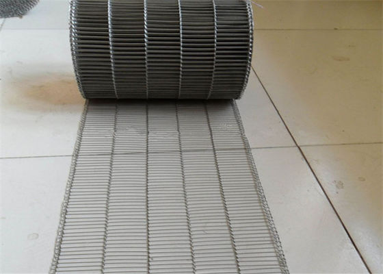 Chiny Customized Flat Wire Mesh Conveyor Belt Running Smoothly And Free Samples fabryka