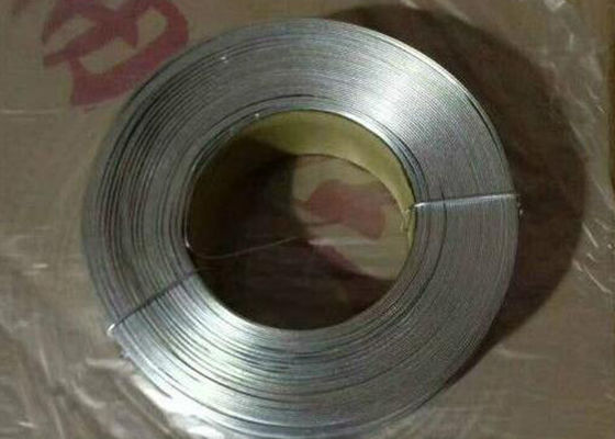 No - Joint Galvanized Flat Wire Anti Corrosion With Low Carbon Steel Q195