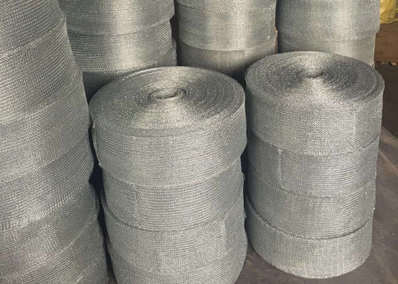 Chiny No Ruffle Knitted Wire Mesh Filter Net High Temperature Corrosion - Resistant fabryka