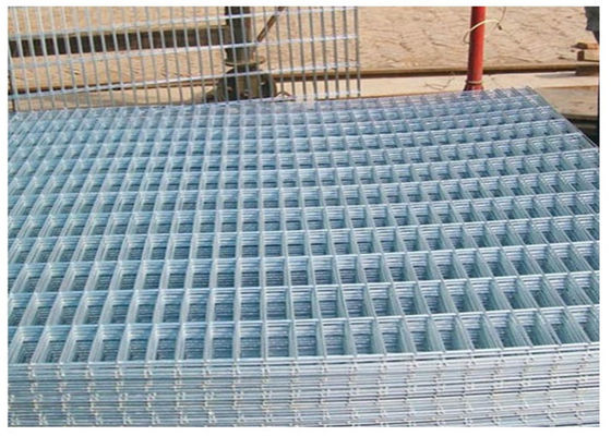 Chiny Thick Coating Square Flat Galvanized Sheets , Welded Wire Mesh Panels 1 X 2 fabryka