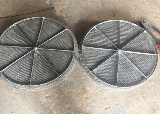 Stainless Steel Mesh / Wire Mesh Demister Light Weight Easy Maintenance