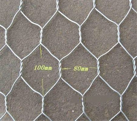 Chiny 2x1x1 Flat Wire Mesh Galvanized Wire Gabion Baskets For Water Protecting Application fabryka