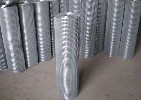 Chiny Thin Welded Wire Cloth Roll Type , Galvanized Stainless Steel Weld Mesh fabryka